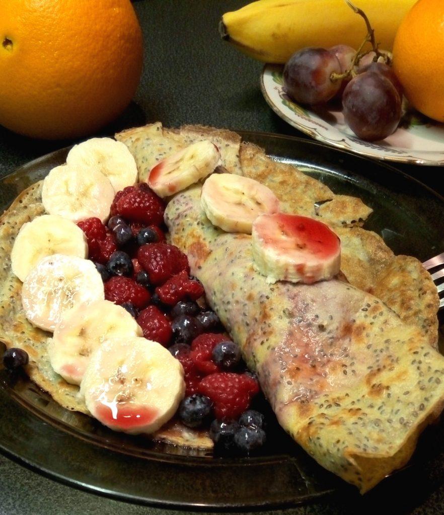 Dietetyczne naleśnieki dyniowe